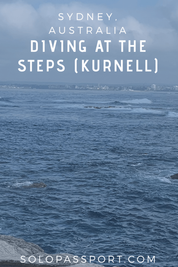 Diving at the Steps (Kurnell)