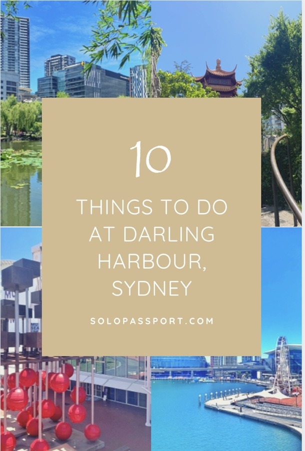 10 things to do in Darling Harbour