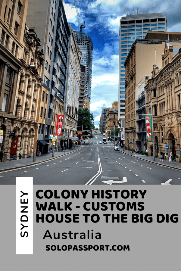 PIN for later reference - Colony History Walk - Customs House to The Big Dig