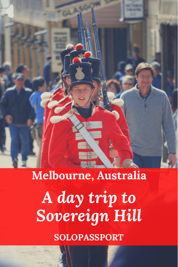 PIN for later reference - A day trip to Sovereign Hill from Melbourne