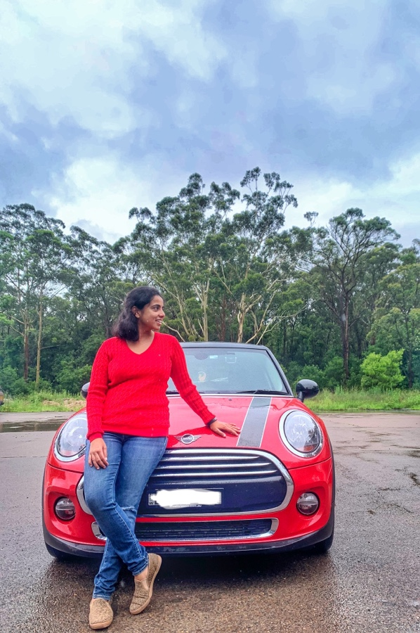 A road trip to Newcastle with Ruhi
