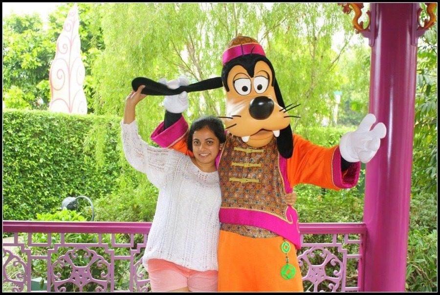 Visit Disneyland in Hong Kong