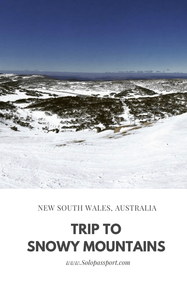 PIN for later reference - Trip to the Snowy Mountains