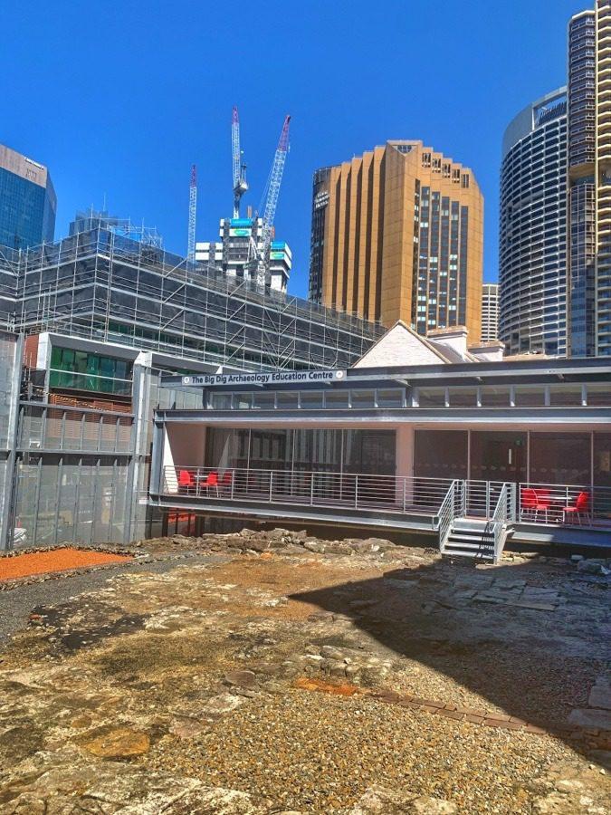 Sydney History Walk at the Rocks - The Big Dig