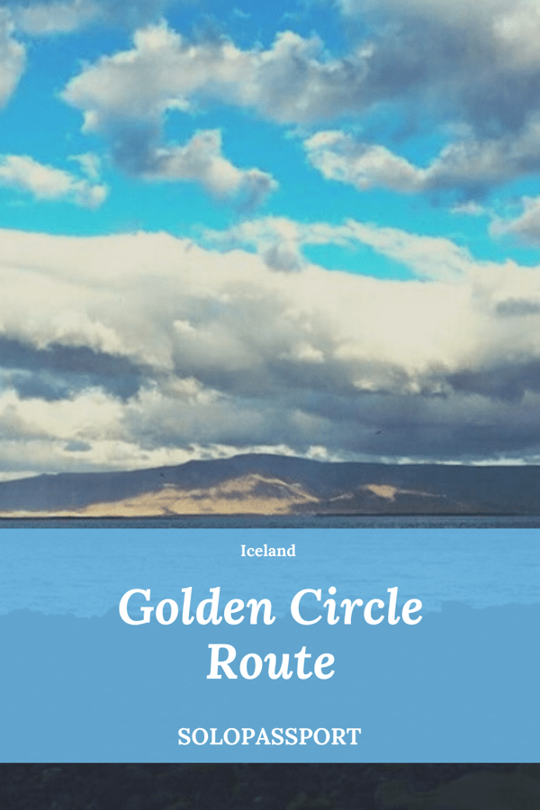 PIN for later reference - Golden Circle Route in Iceland