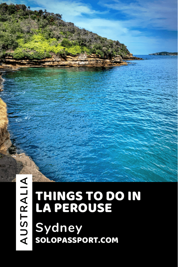 Things to do in La Perouse - PIN for later reference