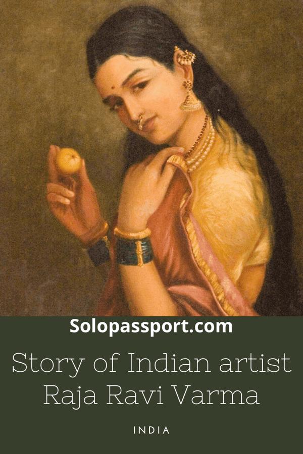 PIN for later reference - Story of Raja Ravi Varma
