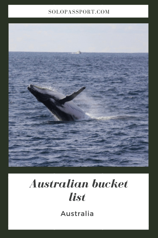 PIN for later reference - Australian bucket list