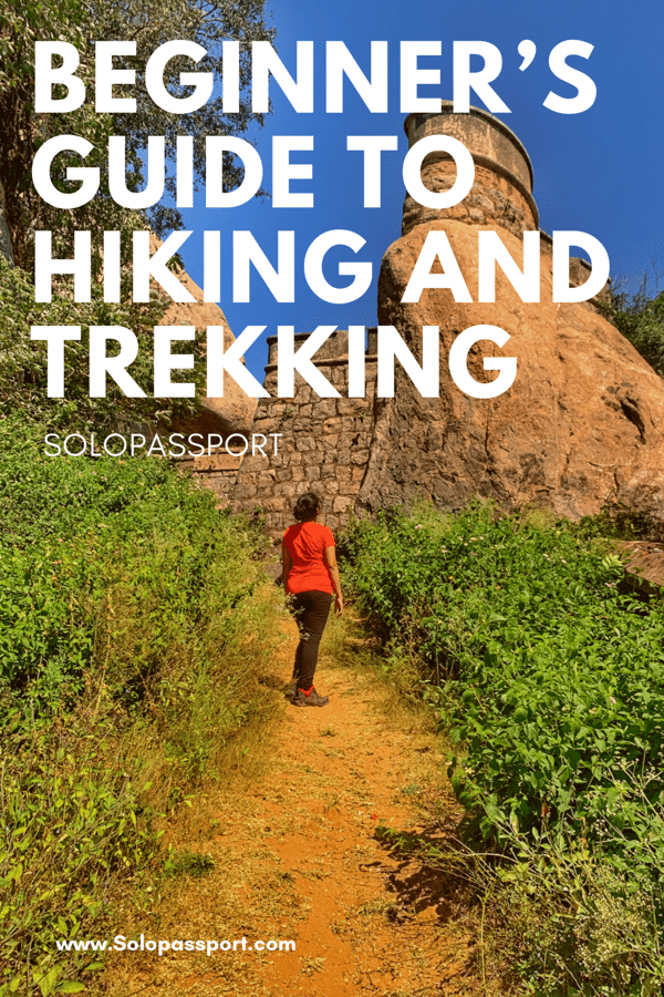 PIN for later reference - Beginner's guide for hiking and trekking