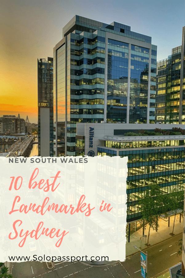 PIN for later reference - 10 best landmarks in Sydney CBD