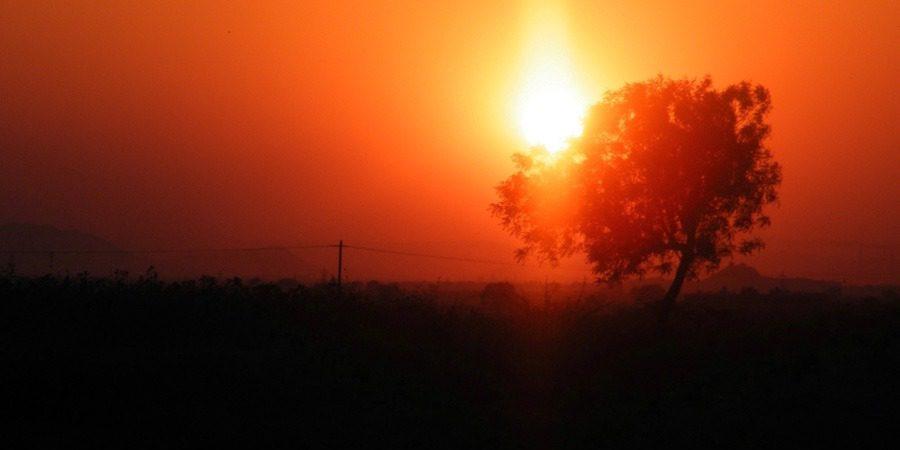 Rayadurga fort sunset