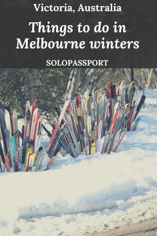 Things to do in Melbourne winters