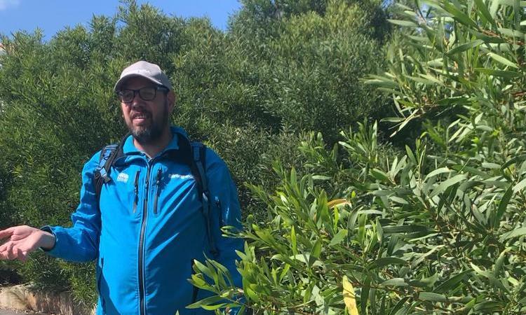 Timothy Gray, an aboriginal guide