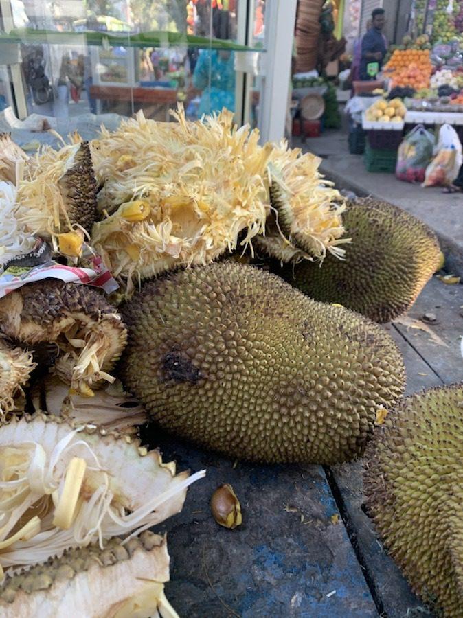 Jackfruits at Malleshwaram market