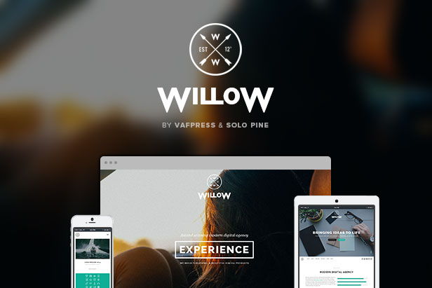 willow parallax wordpress theme
