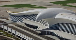 Axalta coats Ashgabat International airport