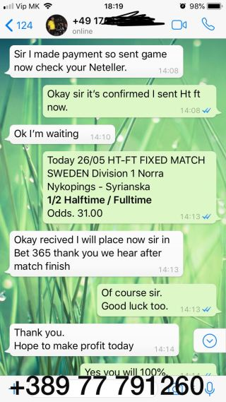 ht ft fixed match