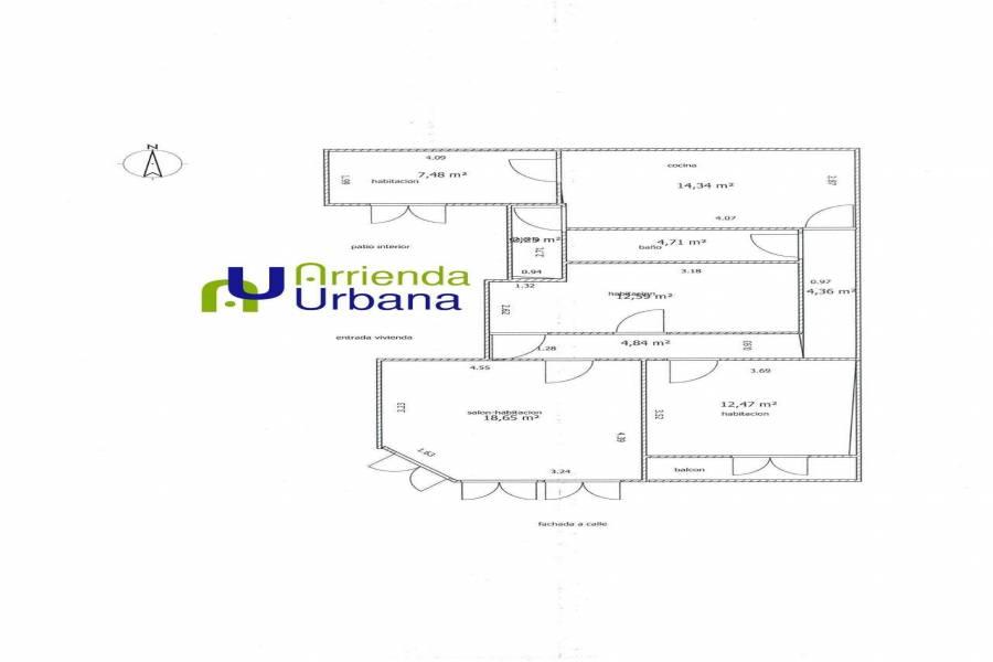 Elche,Alicante,España,3 Bedrooms Bedrooms,1 BañoBathrooms,Apartamentos,26590