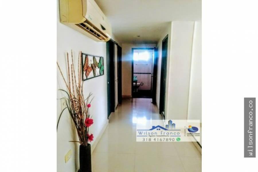 Cartagena de Indias,Bolivar,Colombia,3 Bedrooms Bedrooms,2 BathroomsBathrooms,Apartamentos,3446