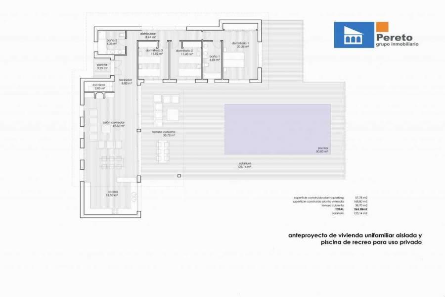 Orba,Alicante,España,3 Bedrooms Bedrooms,2 BathroomsBathrooms,Chalets,29812