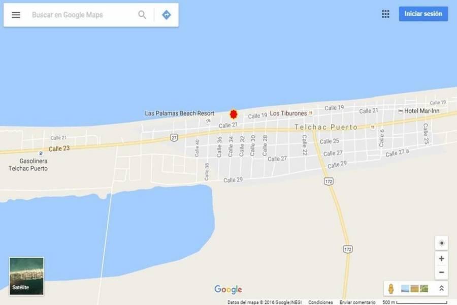 Telchac Puerto,Yucatán,Mexico,Lotes-Terrenos,4541