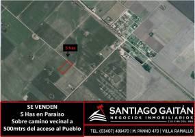 El Paraiso,Buenos Aires,Argentina,Campos,6453