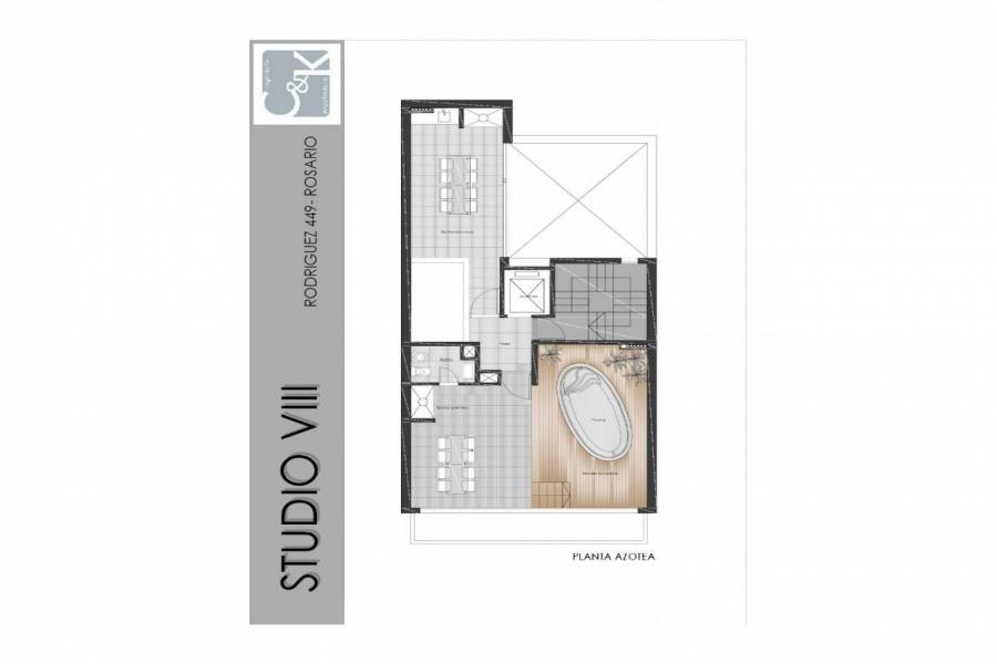 Rosario,Santa Fe,1 Dormitorio Habitaciones,1 BañoBaños,Departamentos,Studio VIII,Rodriguez,1,1581