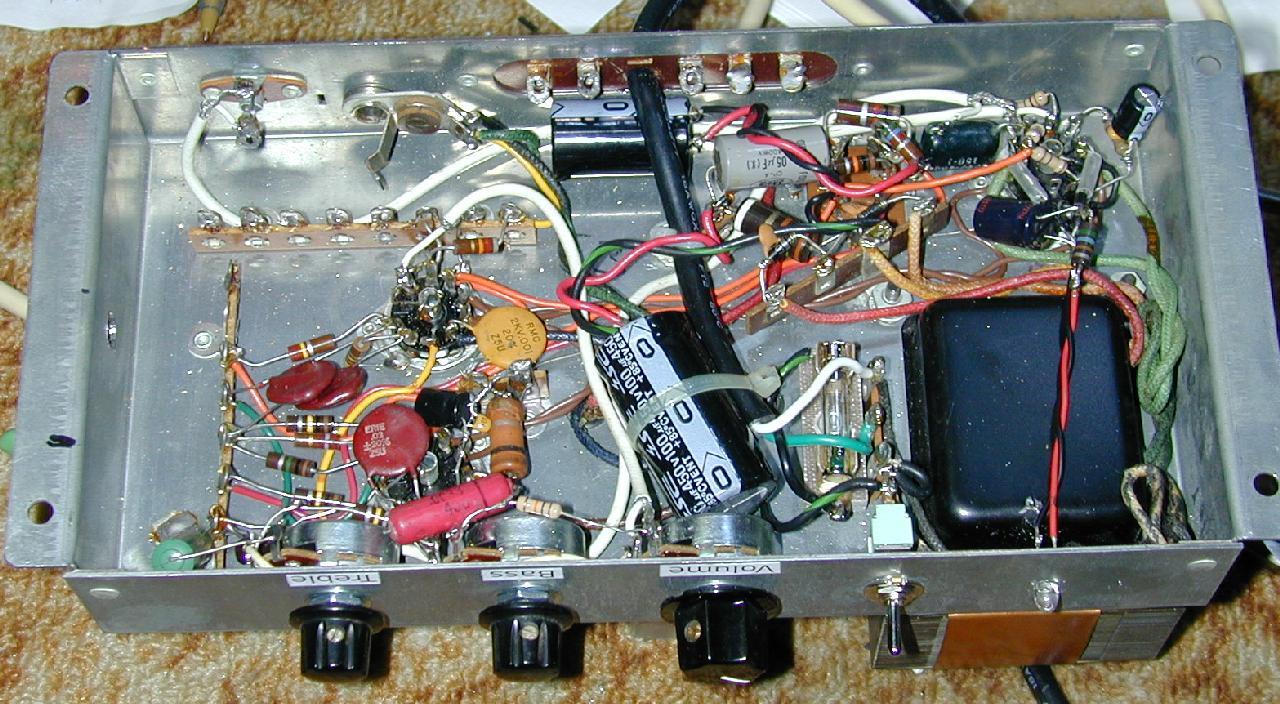 hight resolution of ao 44 mono amp bottom view