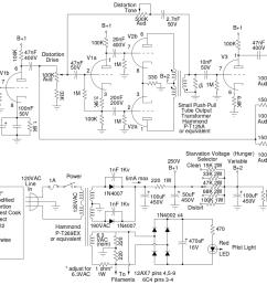 fuzznikator schematic [ 1115 x 780 Pixel ]