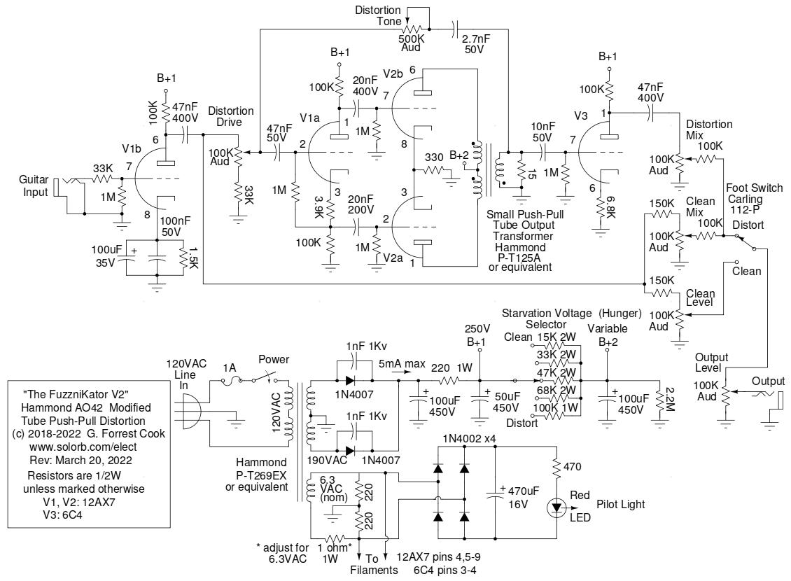 hight resolution of fuzznikator schematic