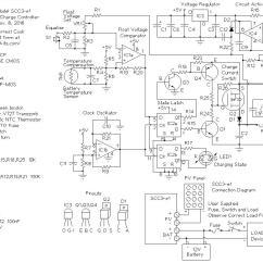 Battery Charge Controller Circuit Diagram Vdo Gauges Wiring Diagrams Scc3 12 Volt 20 Amp Solar
