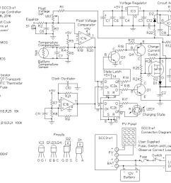 scc3 12 volt 20 amp solar charge controller scc3 schematic [ 1069 x 854 Pixel ]