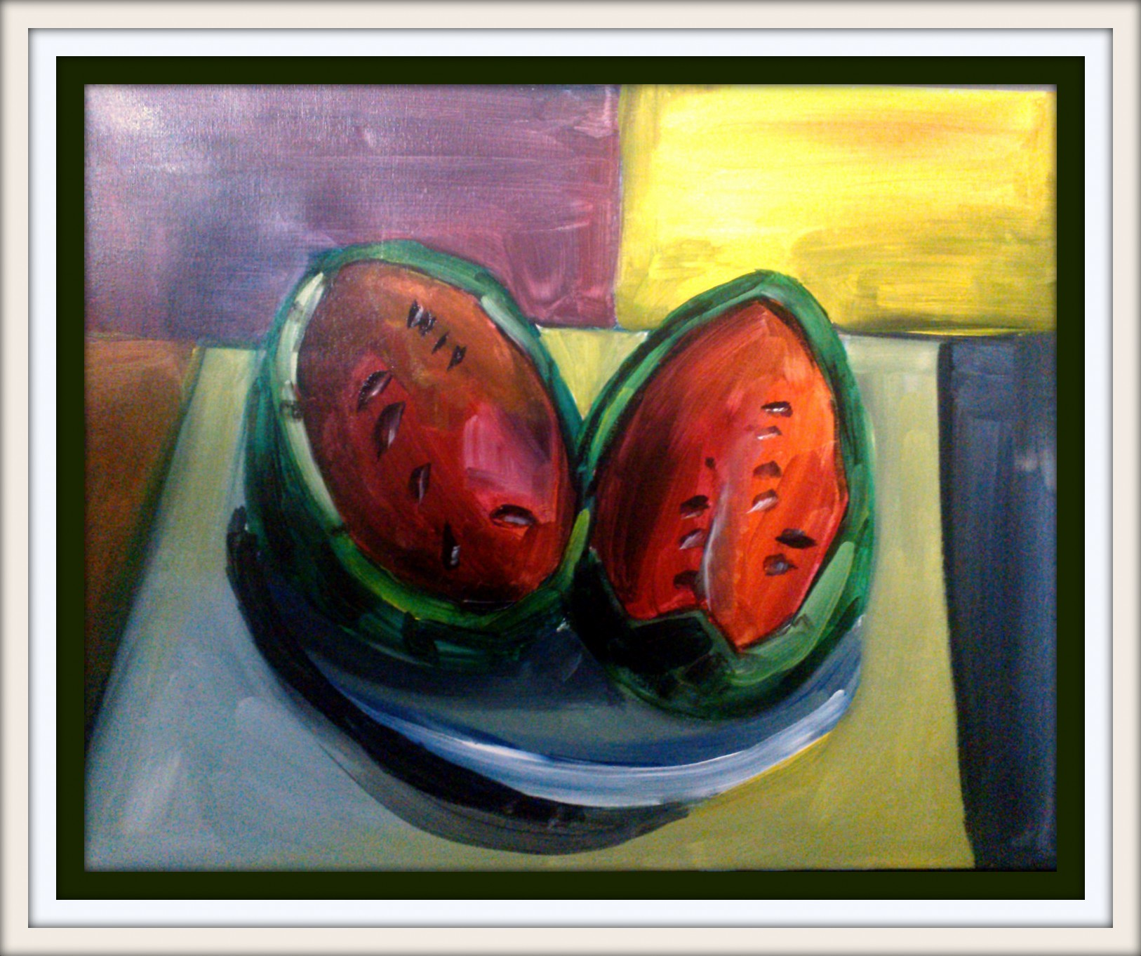 2013 – March 16 – Still life in style of Impressionism