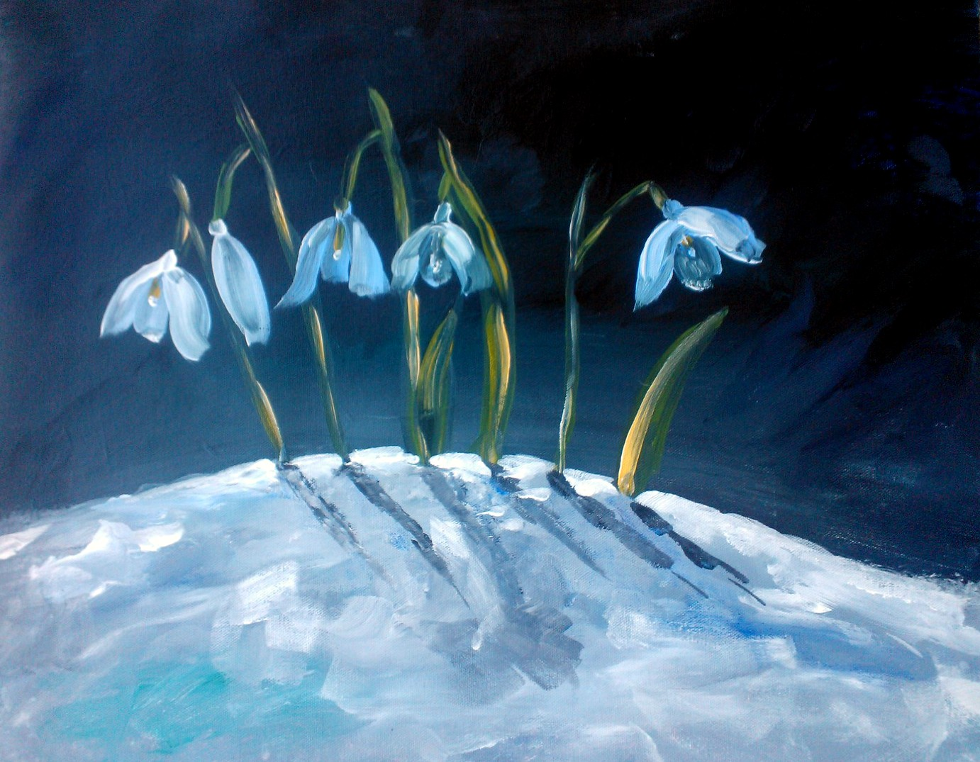 "2014- March 22 -2:30pm- Workshop ""Snowdrops"""