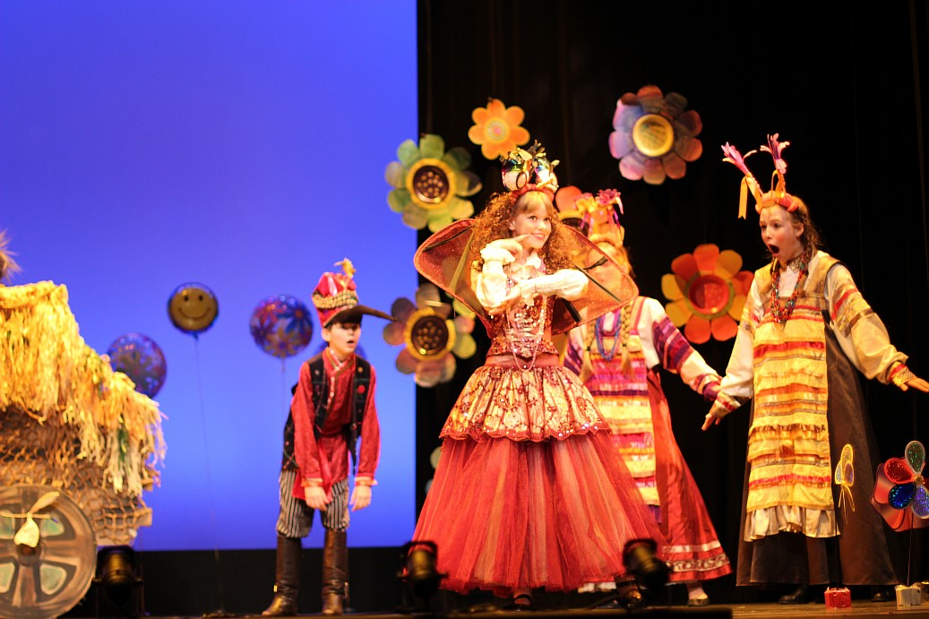 2014 May – Fourth International Festival of Russian-Speaking Children's and Youth Theaters in Washington