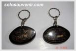 Souvenir Pernikahan Gantungan Kunci gerobak dan becak