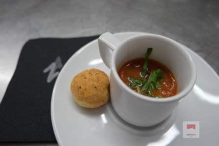 Gazpacho und Chipas