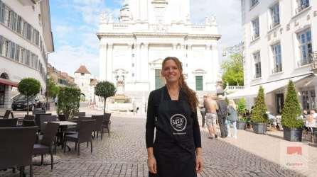 Fernanda - Organisatorin der Route Gourmande