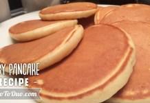 Resep Membuat Pancake
