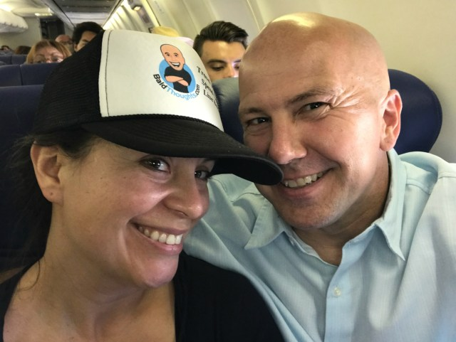 Fathers Day Weekend flight to Cabo with Anna June 2017