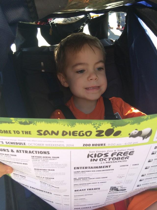 Kids Free San Diego Zoo October 2014-10-18