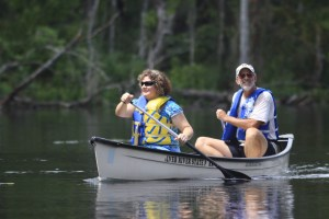 Canoeing Silver River State Park