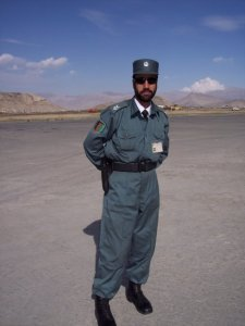 Kabul, Afghansitan Airport Security Officer, March 2006