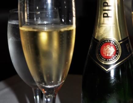 Champagne to Celebrat 'Just Because', Libby's Cafe, Sarasota, Fla.