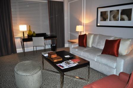 Oo, La, La! Sitting Room of Suite at Omni Berskshire Place