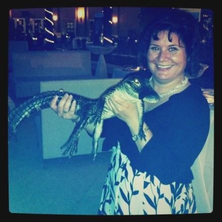 Me and a Gator I Named Fluffy