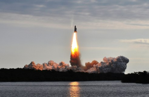 Space Shuttle Endeavour Launch, Kennedy Space Center, May 16, 2011