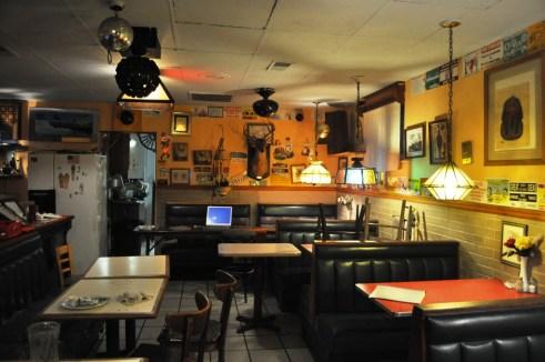 Inside King Tut's Grill, Knoxville, Tenn.