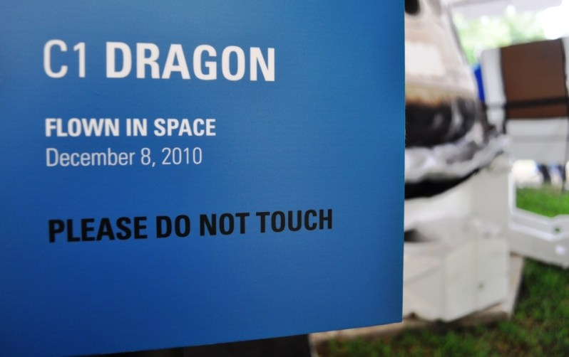 SpaceX's Dragon Capsule Flew in Space, Dec. 8, 2010