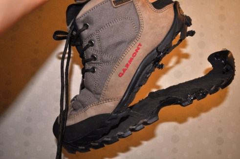 Farewell, hiking boots!